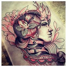 by Gary Dunn.  This would make a gorgeous tattoo!