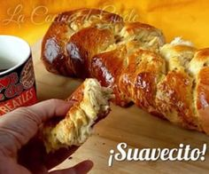 Homemade Sweet Bread Braid - Recipe for a soft bread dough - Homemade Sweet Bread Braid – Recipe for a soft bread dough Mexican Sweet Breads, Mexican Bread, Mexican Food Recipes, Sweet Recipes, Biscuit Bread, Pan Bread, Sweet Dough, Bread And Pastries, Gastronomia