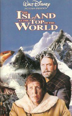 The Island At The Top Of The World 1974 Walt Disney, David Hartman, Donald Sinden, Jacques Marin, David Gwillim