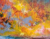 Abstract painting original art on canvas 16x20 - That And So Much More
