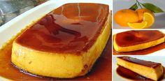 Sencillo y delicioso FLAN de NARANJA con LECHE CONDENSADA. Un postre que seguro va a gustar a todos !! | Receitas Soberanas