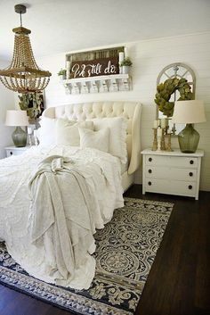 liz marie blog Farmhouse Bedroom Makeover http://www.lizmarieblog.com/2016/06/farmhouse-bedroom-makeover/ via bHome https://bhome.us