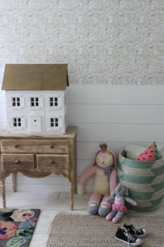 House Seven Design Girls Room. Modern Farmhouse.