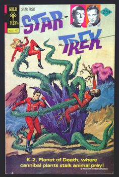Star Trek Gold Key Comics #29 F: 1/4 inch back cover top edge tear. This issue reprinted #1. $10.50