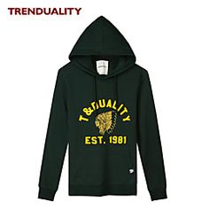 Trenduality®+Άντρες+Στρογγυλή+Λαιμόκοψη+Μακρύ+Μανίκι+Hoodie+...+–+EUR+€+12.54