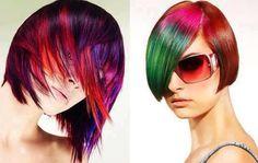 La evolución del color Medium Hair Styles, Long Hair Styles, Cut And Color, Hair Lengths, Hair Color, Colours, Beauty, 3d, Orange
