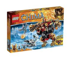 LEGO Legends of Chima 70225 - Bladvic's Rumble Bear #Lego #LegoChima #Chima #LegendsofChima #afol #toys #LegoNews