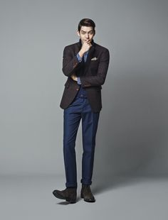 Kim Woo Bin for TRUGEN 2013 CATALOGUE