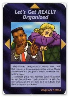 Illuminati Card Lets Get Really Organized