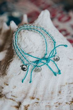 Limited edition World Oceans Day Bracelets that help save the ocean! Every bracelet sold helps fund 4Ocean's BIGGEST underwater, worldwide cleanup to date. #MakeADifference #4Ocean