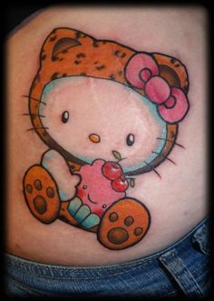 love this Hello Kitty tattoo in the tiger outfit.. I have a pic of Alex in a tigger outfit