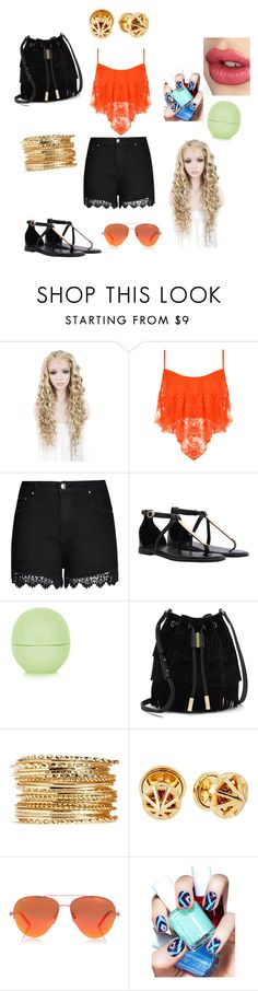 """""""Popular girl summer look"""" by inspiration-center ❤ liked on Polyvore featuring WearAll, City Chic, Topshop, Vince Camuto, Rebecca Minkoff, Kurt Geiger, Essie, Charlotte Tilbury, Summer and cute"""