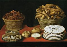 Tomás Yepes, Hiepes (c. 1595-1674) — Sweets And Nuts On A Table : Museo Nacional del Prado, Madrid. Spain  (1280x903)