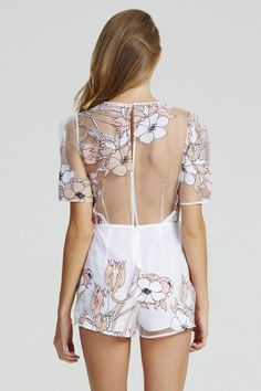 Alice McCall Country Girl Playsuit | Nic del Mar