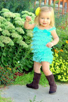 Stunning Lace Petti Romper