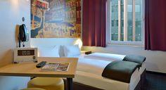 Zweibettzimmer im B&B Hotel Düsseldorf-City