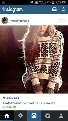 Sweater Weather: Great Places to Find this Season's Sweaters Knit Fashion, Cute Fashion, Womens Fashion, Fashion Trends, Sweater Fashion, Fashion Beauty, Fashion Outfits, Hipster Fashion, Sweater Outfits