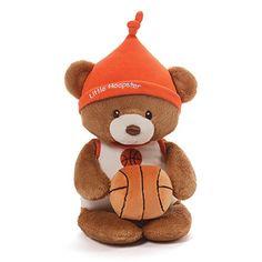 Gund Baby Teddy Bear and Rattle, Little Hoopster Basketba... https://www.amazon.com/dp/B00ZB5V5Y4/ref=cm_sw_r_pi_dp_x_Nef4xb6191YHF