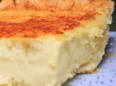 Coconut Custard Pie..