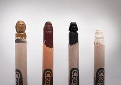 Carved Crayons | Handmade Charlotte