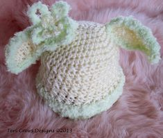 Ravelry: Bunny Baby Hat pattern by Teri Crews