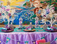 """Little Mermaid  / Birthday """"Under the Sea Mermaid Party""""   Catch My Party"""