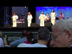 The McCrary Sisters Live at Lincoln Center 2015 Blowin' in the wind