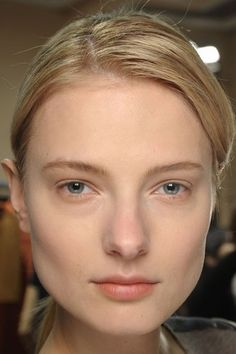 A/W 2012 Damir Doma We Make Up, Damir Doma, Smoky Eye, Flawless Skin, Pink Lips, Makeup Trends, New Look, Eyeliner, Beauty