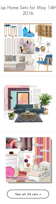 """""""Top Home Sets for May 14th, 2016"""" by polyvore ❤ liked on Polyvore featuring interior, interiors, interior design, home, home decor, interior decorating, Cavern, Kismet, Surya and Emporium Home"""