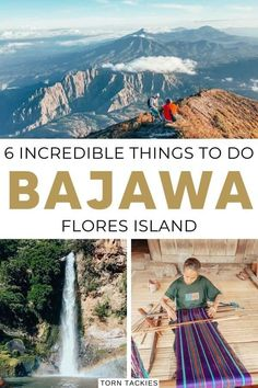 6 Incredible things to do in Bajawa Flores Island Indonesia Backpacking South America, Backpacking Europe, Cool Places To Visit, Places To Travel, Travel Destinations, Travel Photographie, Bali Travel, Usa Travel, Travel Guides
