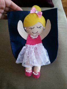 kızımın çantasını hazırlıyorum