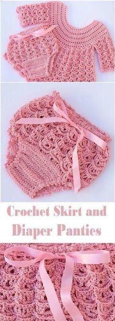 66 ideas for crochet lace skirt pattern free knitting Poncho Au Crochet, Pull Crochet, Crochet Baby Sweaters, Baby Girl Sweaters, Crochet Baby Clothes, Baby Knitting, Baby Blanket Crochet, Knit Crochet, Crochet Pillow