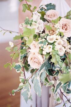 Delicate winter wedd