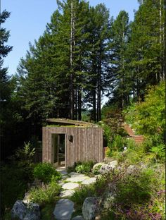 Roof Garden: Cottages in the Mill Valley Forest - Gardenista