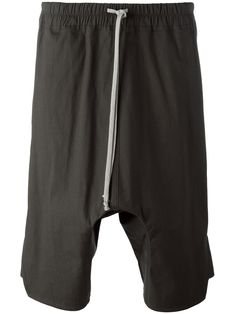 RICK OWENS . #rickowens #cloth # Drop Crotch Shorts, Rick Owens Men, Mens Fashion, Cotton, Clothes, Collection, Shopping, Style, Moda Masculina