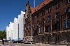 Philharmonic Hall Szczecin under construction, Szczecin, PL - Barozzi /Veiga   Poland © Piotr Krajewski