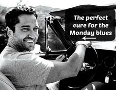 The perfect cure for the Monday blues--Gerard Butler. #GerardButler https://www.facebook.com/WildEyedScots/photos/a.560027350779303.1073741827.560011737447531/782141935234509/?type=1