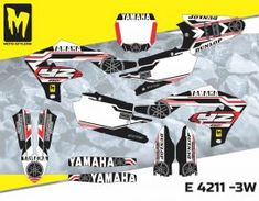 E 4211 - Yamaha YZf 450 2018 - Moto-StyleMX - Premium decals manufactured in Europe. High quality designs for motocross, supermoto, enduro, ATV. Cafe Racer Build, Scrambler Motorcycle, Yamaha Yzf, Car Insurance, Motocross, Dirt Bikes, Decals, Graphics, Thoughts