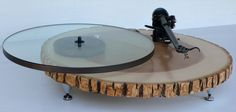 Unbelievable - this is just so cool. Audiowood Barky Turntable by Audiowood on Etsy, $1300.00
