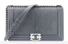 Chanel Python Large Boy Bag