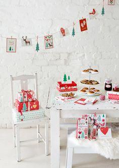 sweet table Noël