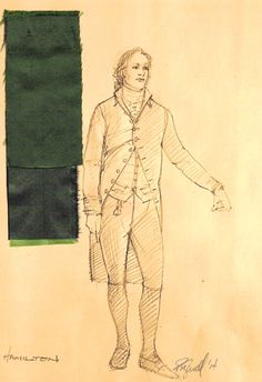 The Costume Design of HAMILTON on Broadway! Interview with costume designer Paul Tazewell.