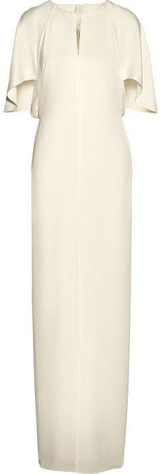 Pin for Later: The Ultimate Guide to Wedding Dresses With Sleeves  3.1 Phillip Lim Chiffon-Paneled Crepe Maxi Dress (£755)