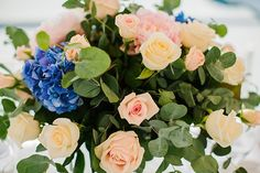 Intimate Wedding Destinations Greece | Santorini Wedding by Stella and Moscha - Exclusive Greek Island Weddings | Photo by Anna Roussos | www.stellaandmoscha.com