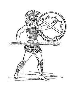 C0132523-Ancient_Greek_warrior-SPL.jpg (422×530)