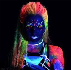 Hairstyles Glow-In-The-Dark Phoenix Hair Is the New Hair Color Trend,Glowing neon hair is the latest full on development that nobody actually knew they wanted till they noticed it. Once it was seen, it was on the scene ...