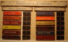 """The """"REAL"""" SEC...Whoever said TX and MO is southern, are very wrong!"""