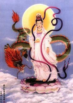 Kwan Yin a Deusa da Misericórdia Rogai por nós!