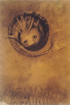 Chimera 1883 - Odilon Redon