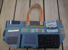 裂き織りバッグ NO17の画像2枚目